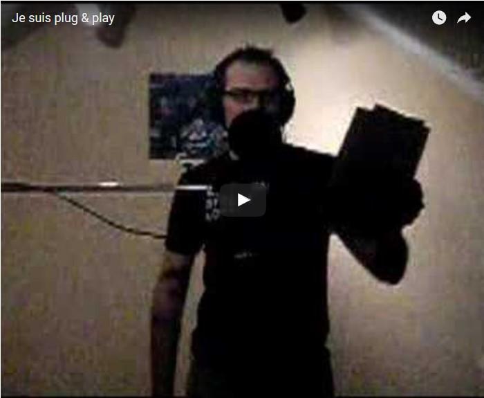 Cyborg Jeff - Je Suis Plug & Play - Studio Quena