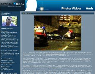Skyblog - Cyborgjeff - 2006