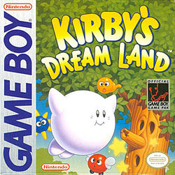 Kirby's dream land - Gameboy (HAL Lab, 1993)