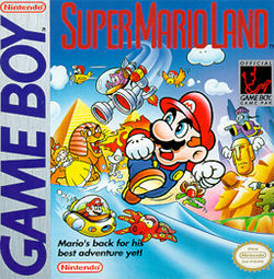 Super Mario Land - GameBoy (Nintendo, 1989)