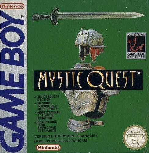Mystic Quest - Gameboy (Squaresoft, 1993)