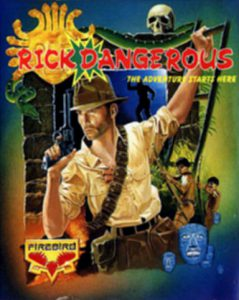 Rick Dangerous - C64 (Core Design, 1989)