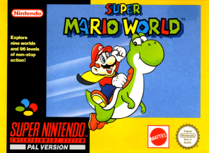 Super Mario World - SNES (Nintendo, 1992)