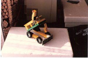 Projet LEGOBots réalisé par Sylvain Martin, 1986