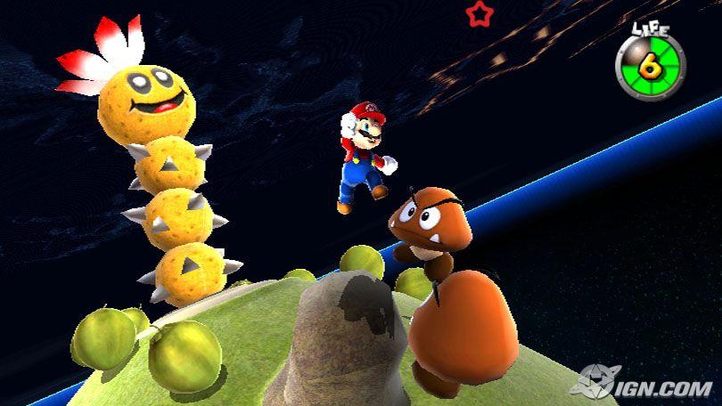 Super Mario Galaxy - Wii (Nintendo, 2007)