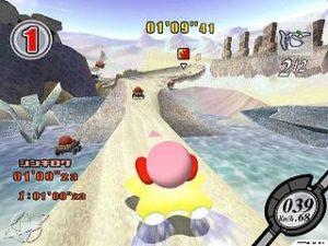 Kirby Air Ride -Gamecube (Nintendo - HAL,  2003)
