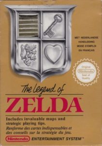 The Legend of Zelda - NES (Nintendo, 1987)