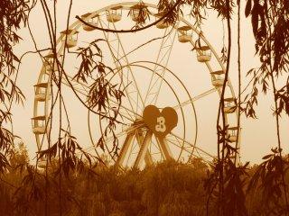 La grande roue de Bobbeyaanland