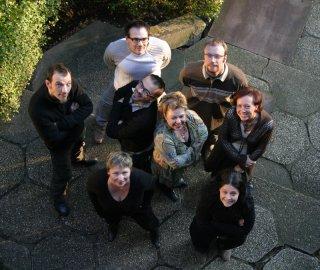 L'équipe Campus Eagora (Pierre, Vincent, Olo, Jeff, Bea, Marianne, Patou et FredE)