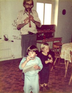 Papa, Pierre & Sylvain 1982