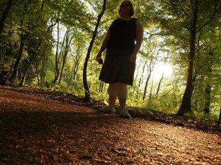 jessica dans les bois de Seraing