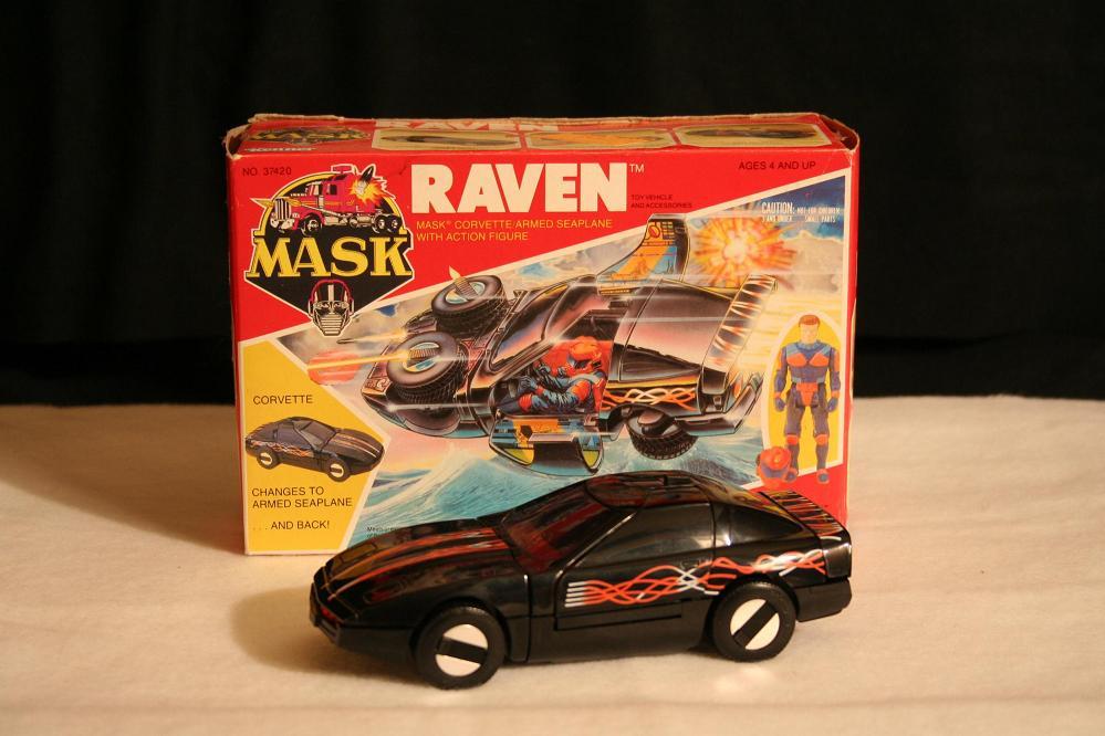 Jouet M.A.S.K. - Raven