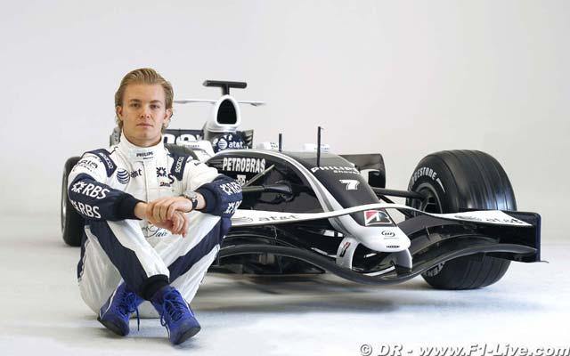 Nico Rosberg et sa nouvelle Williams FW30