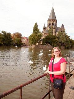 Madame vue sur Metz
