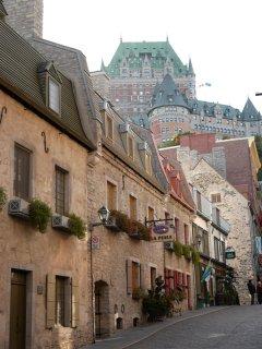 la veille ville de Québec