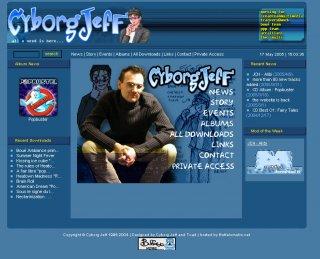 premier site cyborgjeff.com en Xoops