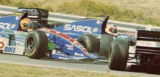 1994, Les Jordan Hart de Rubens Barrichello et Eddie Irvine