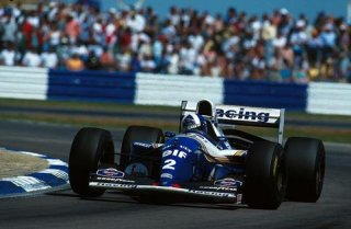 1994 Damon Hill sur Williams Renault