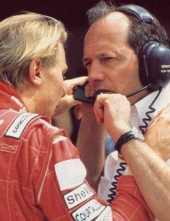 1994, Mika Häkkinen et Ron Dennis