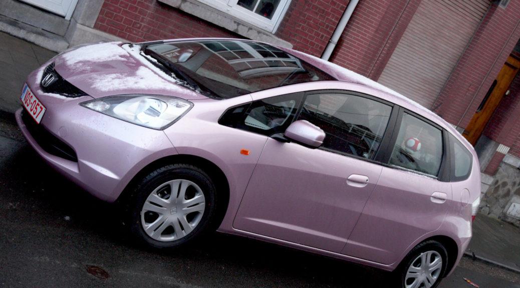 La nouvelle Honda Jazz rose