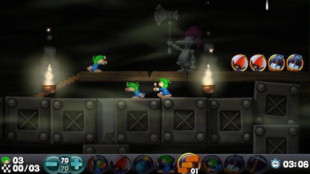 Lemmings - PS3 (Sony - Team 17, 2006)