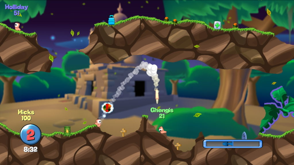 Worms Hd - PS3 (Team 17, 2009)