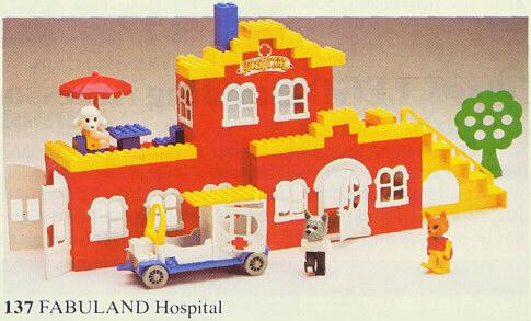 LEGO Fabuland - L'hopital, 1979