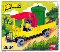 LEGO Fabuland - 3634 - Charlie le corbeau, 1980