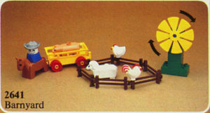 LEGO 2641-1 - Le champs du fermier, 1982
