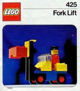 LEGO 425 - L'élévateur, 1976
