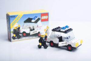 LEGO 6623 - La voiture de police, 1983