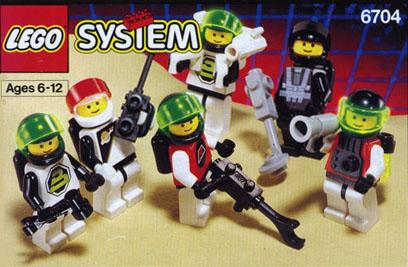 LEGO 6704 - Spationautes, 1991