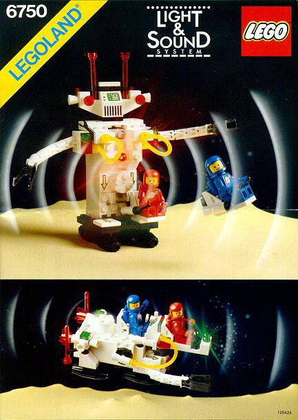 LEGO 6750 - Robot Sonic, 1986