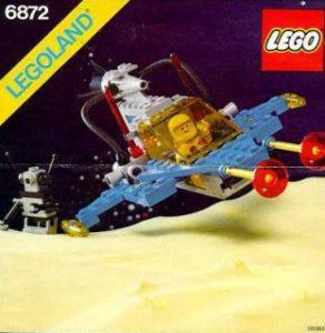 LEGO 6872 - Vaisseau Xenon, 1985