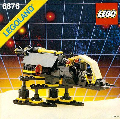 LEGO 6876 - Blacktron Alienator, 1988