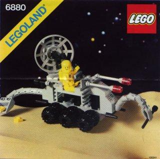 LEGO 6880 - L'explorateur lunaire, 1982