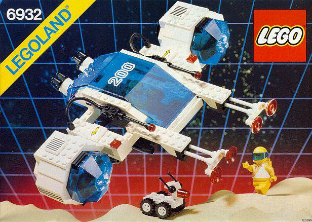 LEGO 6932 - Stardefender Futuron, 1987