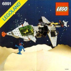 LEGO 6981 - Vaisseau Gamma Laser, 1985