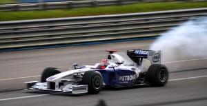 Kubica 2009 Malaysian GP