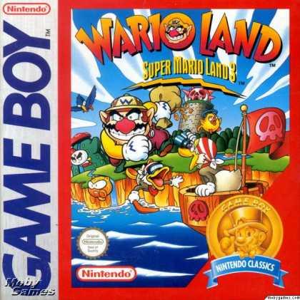Warioland (Super Mario Land 3) - GB