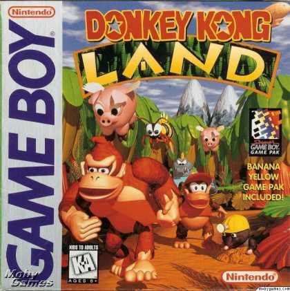 Donkey Kong Land - GB (Nintendo, Rare, 1995)