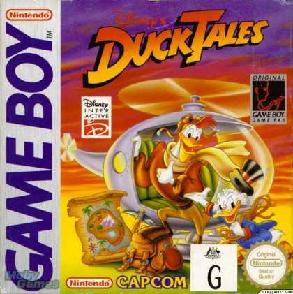 Ducktales - GB (Capcom, 1990)