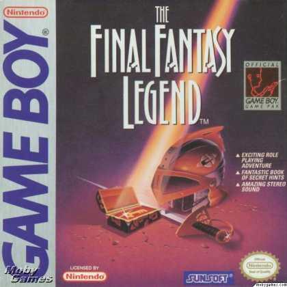 The Final Fantasy Legend - GB (Squaresoft, 1990)