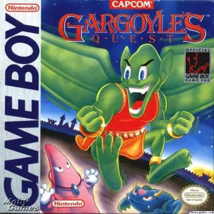 Gargoyle's Quest - GB (Capcom, 1990)
