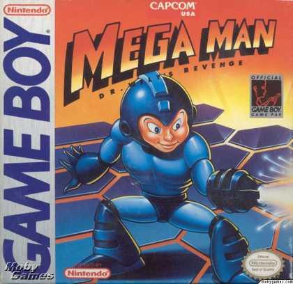 Megaman - GB (Minakuchi, Capcom, 1991)