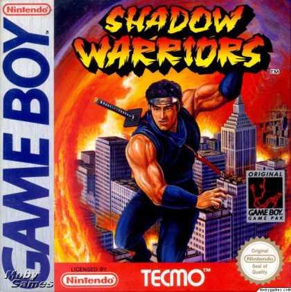 Shadow Warriors - GB (Tecmo - Natsume, 1991)