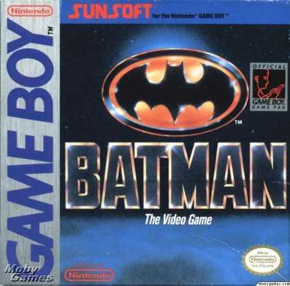 Batman - the video game - GB (Sun, 1990)