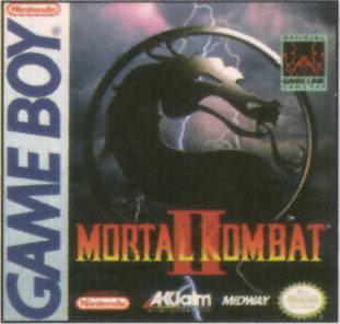Mortal Kombat II - GB (Midway, Acclaim, 1994)