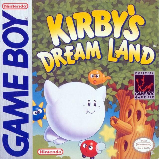 Kirby's Dreamland - GB (Nintendo, HAL, 1992)