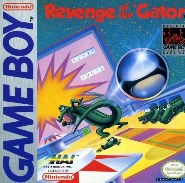 Pinball Gator - GB (HAL, 1990)